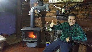 Tiny Off Grid Cabin Tour
