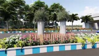 ADDA Asansol Landscaping Green City Mission by Architect ArcOn Design, Kolkata