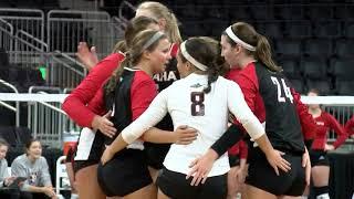 Highlights: Volleyball vs South Dakota