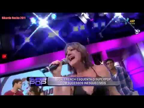 NICKI FRENCH: Canta seus sucessos no SuperPop - Luciana Gimenez - 2011