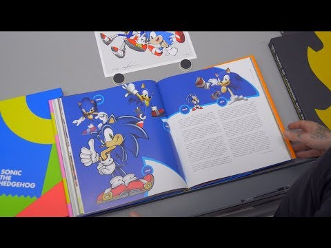 Official Sonic the Hedgehog 25th Anniversary Art Book - Collector's Edition by Cook & Becker