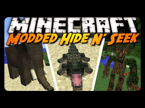 Minecraft Mini-Game: MODDED HIDE N' SEEK!