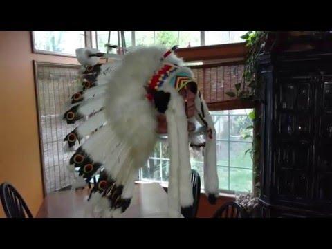Native American Head Dress - War Bonnet