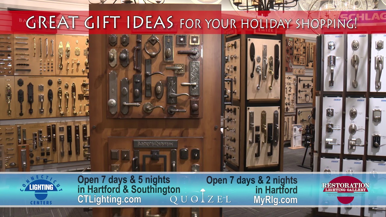 CT Lighting Centers Quoizel Holiday Gifts & CT Lighting Centers: Quoizel Holiday Gifts - YouTube