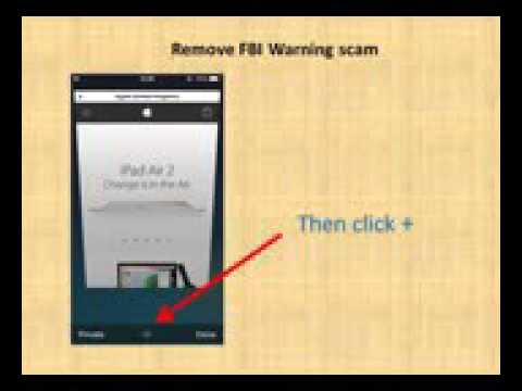 how to remove virus from iphone how to remove fbi warning from iphone in safari 18997