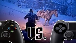 Мэддисон, POV сравнение графики Xbox One X и PS4 Pro в Red Dead Redemption 2