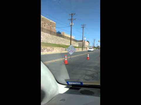 Criminal El Paso Texas Police Driver License and Insureance Check Point