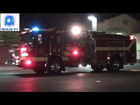 [Las Vegas] Rescue 44 + Engine 44 Las Vegas Fire-Rescue