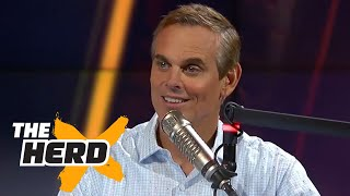 Colin Cowherd calls out Michelle Beadle, she calls in to respond | THE HERD