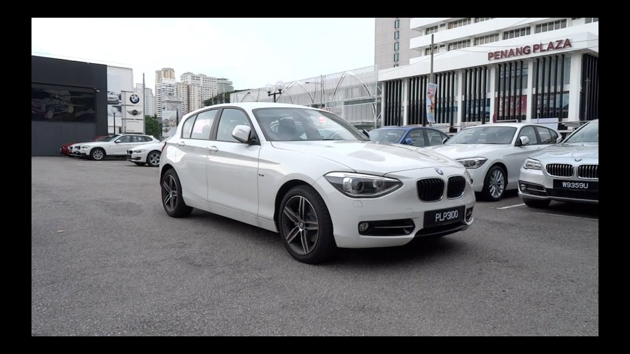 2014 bmw 118i sport line start up and full vehicle tour. Black Bedroom Furniture Sets. Home Design Ideas