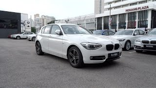 2014 BMW 118i Sport Line Start-Up and Full Vehicle Tour