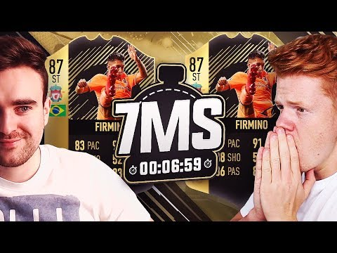 INFORM WALKOUT PACKED VS AJ3! 87 FIRMINO 7 MINUTE SQUAD BUILDER! - FIFA 18 ULTIMATE TEAM
