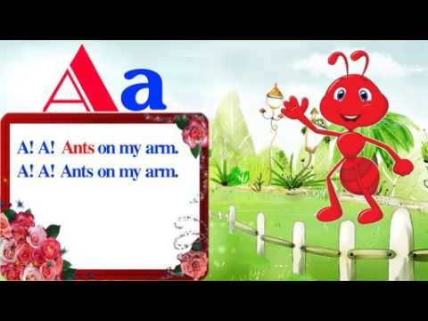 A! A! A! Ants on my arm baby poem