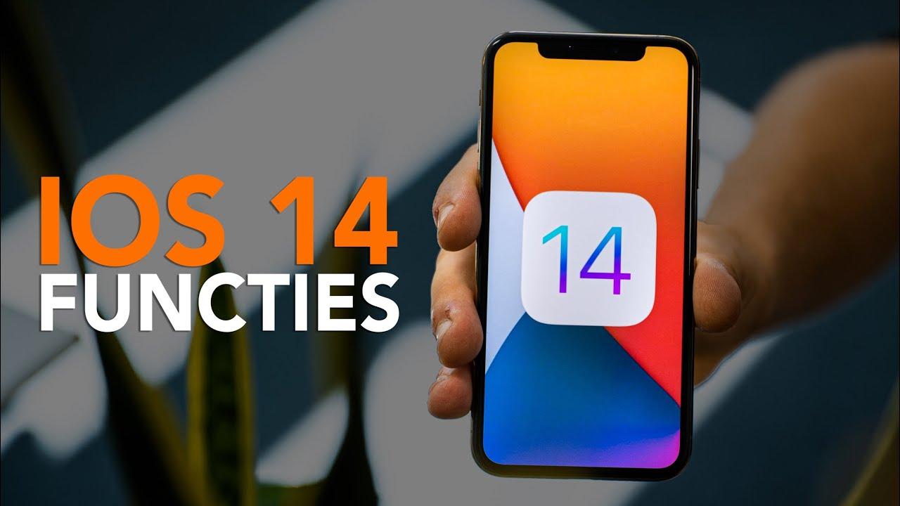 iOS 14: Dit zijn de 7 belangrijkste functies
