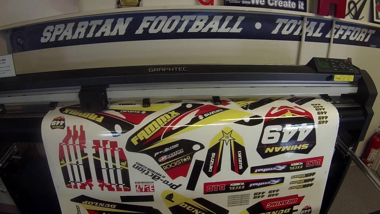 Fammx Design Motocross Graphics Printing Youtube