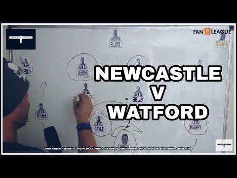 Tactics board | Newcastle v Watford preview | £100 cash winner