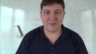 Алгебра 8 класс. 7 октября. Умножение и деление алгебраических дробей #4