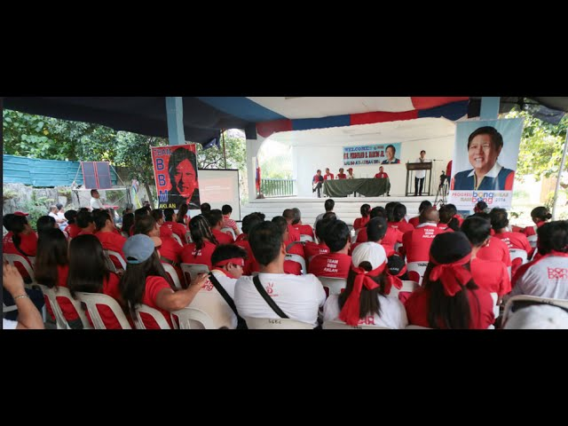 Sen. Bongbong Marcos - Meet and greet with the Team BBM Aklan
