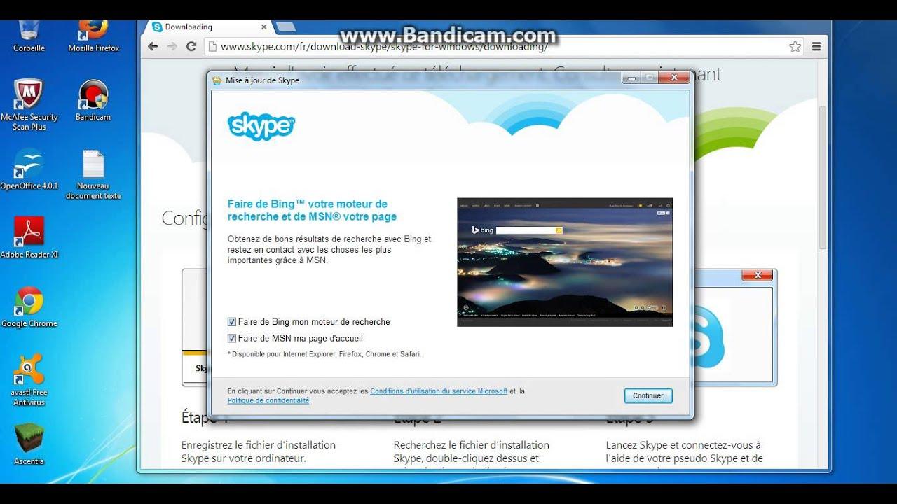 Tuto comment avoir skype pour bureau windows youtube - Telecharger skype gratuit pour bureau ...