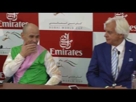 Dubai World Cup Press Conference - March 25, 2017