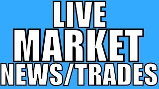 Day Trading Live, Stock Market News & Stocks To Trade - Trade war, Tesla Guidance Cut, NFLX Earnings