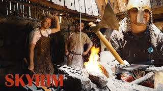 Battling With Vikings | Real Life Skyrim!