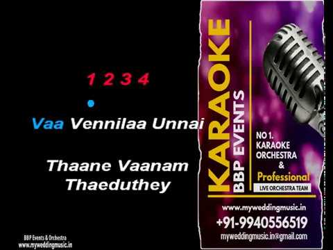 Vaa Vennila Unnai HQ Tamil Video Karaoke (BBP Karaoke)