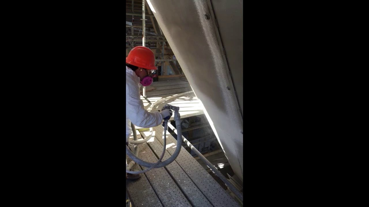 JC Industrial Services Ceramic Thermal Barrier Spray Applied Insulation