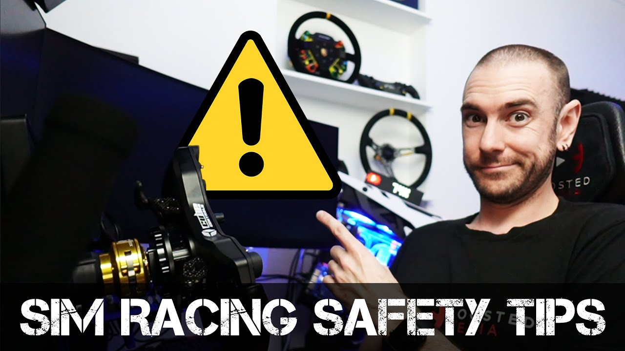 Video: Sim racing safety tips