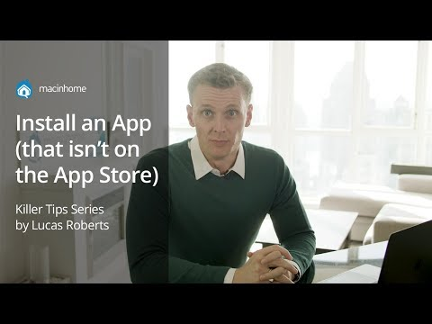 How To Install An App (that Is Not On The App Store!)