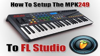 MPK249 Setup with FL Studio | (Mapping Pads, Note Repeat)