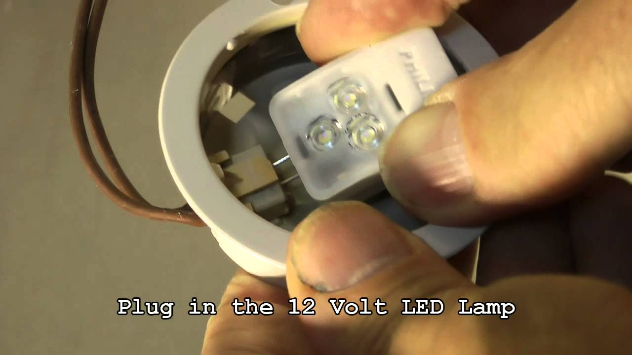 Save Energy With LED, How To Replace Halogen G4 Lamps By