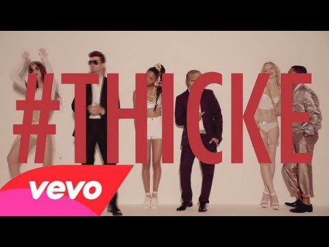 Robin Thicke  Blurred Lines Clean ft TI, Pharrell