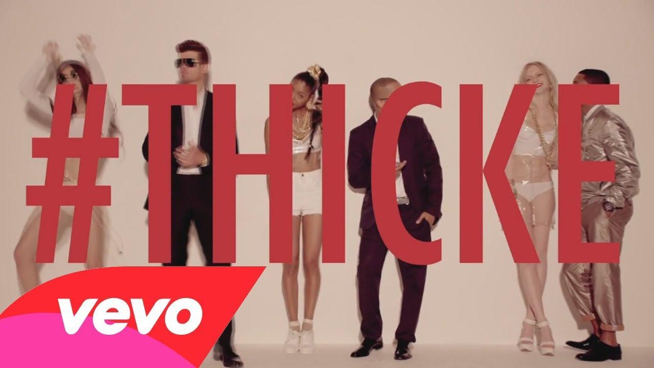 Robin Thicke Blurred Lines Clean Ft T I Pharrell
