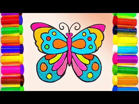 BEAUTIFUL BUTTERFLY | Animated Cartoons Characters | Animated Short Films | 5 Minute Crafts