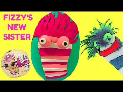 Fizzy's New Sister Phoebe Play Doh Surprise Egg