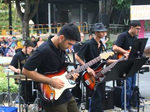 Jambone by Snarky Puppy - Covered by the TTS Jazz Band - Guitar Solo