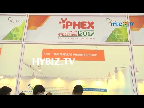 The Madras Pharma Group | IPHEX 2017 Health Care Exhibition Hyderabad | hybiz