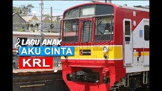 "Lagu Anak Indonesia : ""Kereta Listrik Kita"" (Aku Cinta KRL) #Video_Lirik"