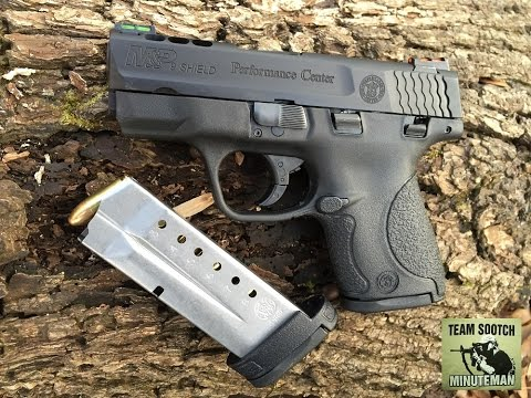 New S&W Perfomance Center M&P Shield 9mm Pistol Review