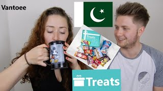 British People Taste Test Pakistani Snacks