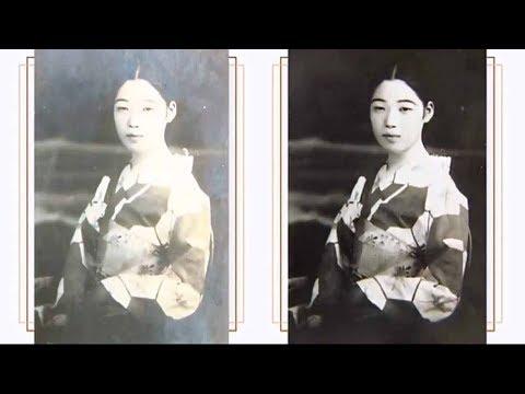 Ремонт по-японски: Реставрация фотографий