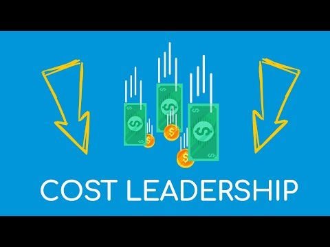 Cost leadership: When a company sells cheap and makes money