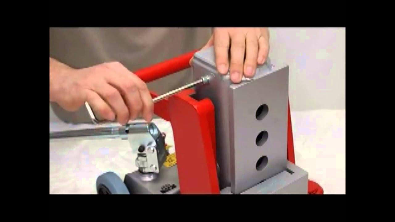 15 Tons Hydraulic Lifting Jacks : Hydraulic toe jacks ton youtube
