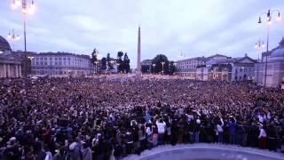 Massive Roma Flash Mob - Gangnam Style 30.000 presenze! Roma Piazza del popolo 10-11-2012
