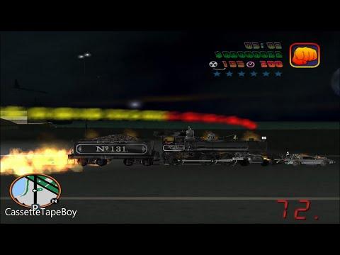 BTTF HV 0.2f New Feature: Locomotive 131 Pushes Delorean