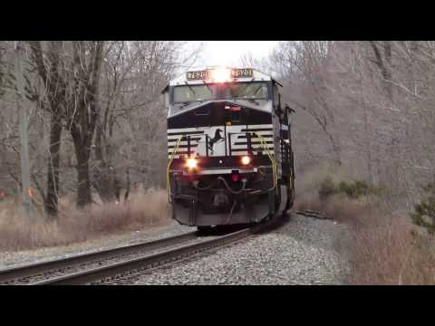 NS Freight on Lehigh Line; Rowland Mills to Grandin, New Jersey