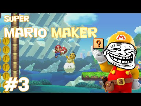 Mario Maker Troll Levels - Try if you think you can win