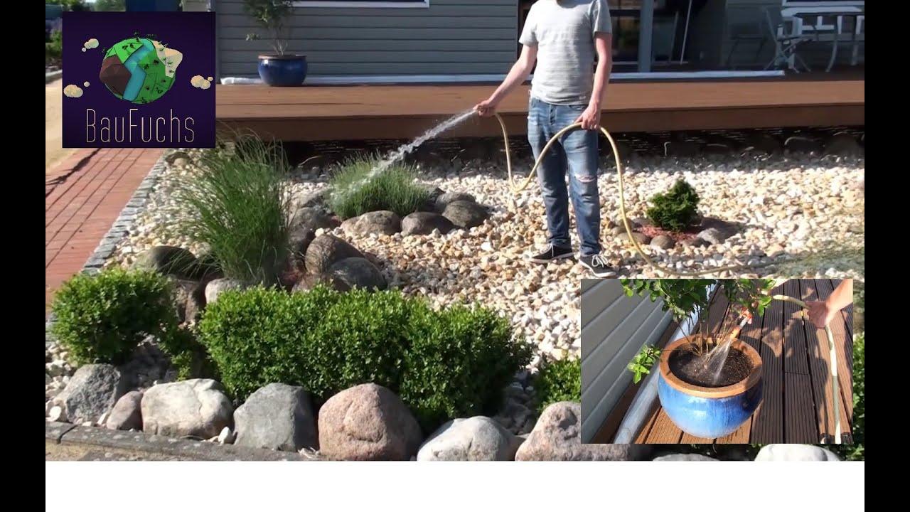 Berühmt Hauswasserwerk und Ringleitung Regenwasser Zisterne - Bequem und @KG_15