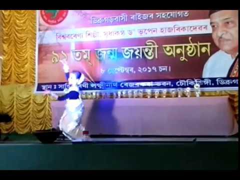 Dance Dr Bhupen Hazarika song/ Assam Voice